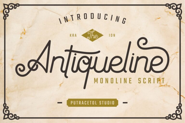 Preview image of Antiqueline