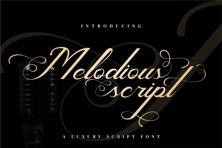 Preview image of Melodious Script