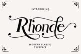Last preview image of Rhonde