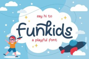 Fun Kids - Playful Font