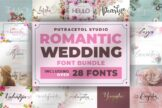 Last preview image of Romantic Wedding Font Bundles