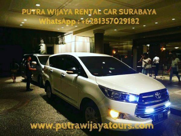 Rental Car with Driver Sewa Mobil Innova Reborn Surabaya
