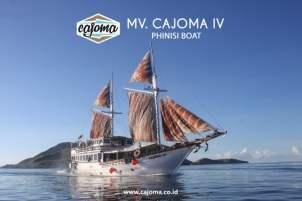 Charter Boat Komodo Labuan Bajo Cajoma IV