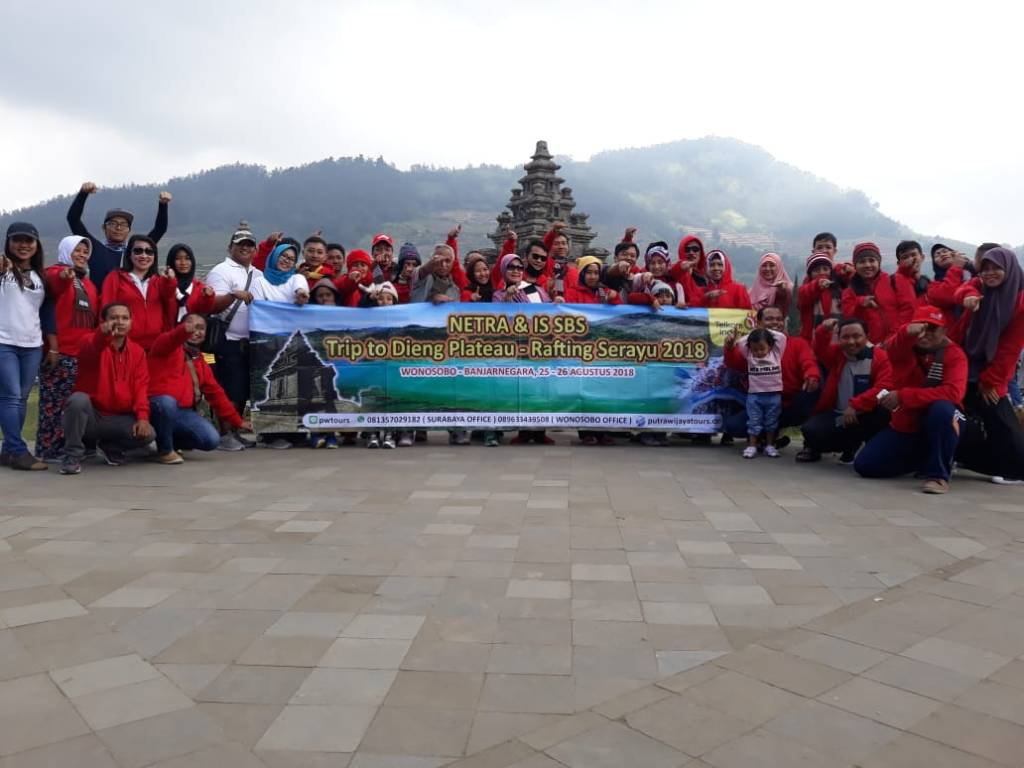Harga Paket Tour Murah, Biaya Paket Wisata Dieng Rafting Serayu dari Surabaya, Sidoarjo, Mojokerto, Gresik, Tuban, Kediri