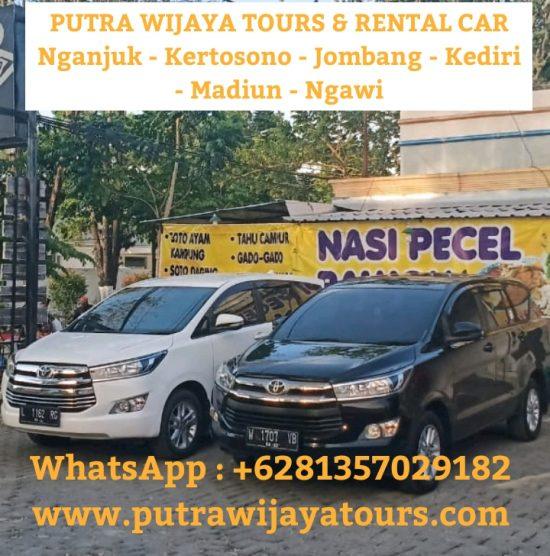 Harga Rental Sewa Mobil Murah di Nganjuk - Kediri - Jombang - Madiun