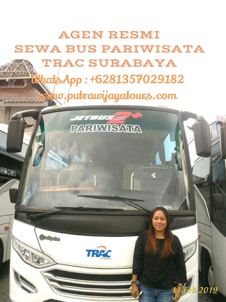 Sewa Bus Pariwisata Trac Surabaya