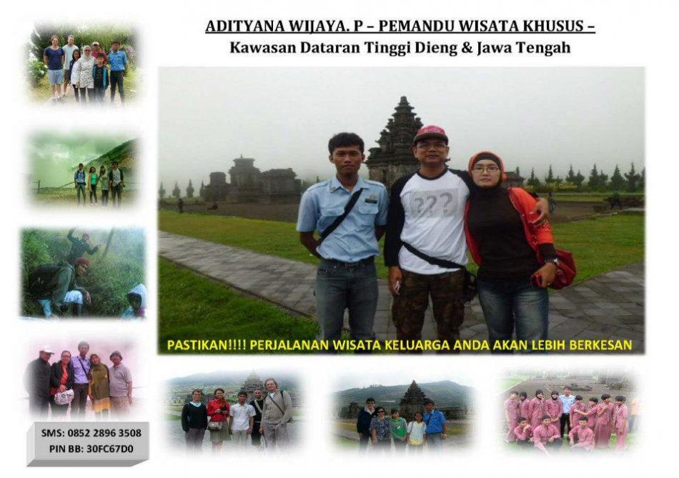 Jasa Pemandu Wisata Dieng - Dieng Tour Guide