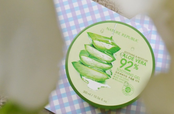 Nature Republic Aloe Vera 92 Shooting Gel
