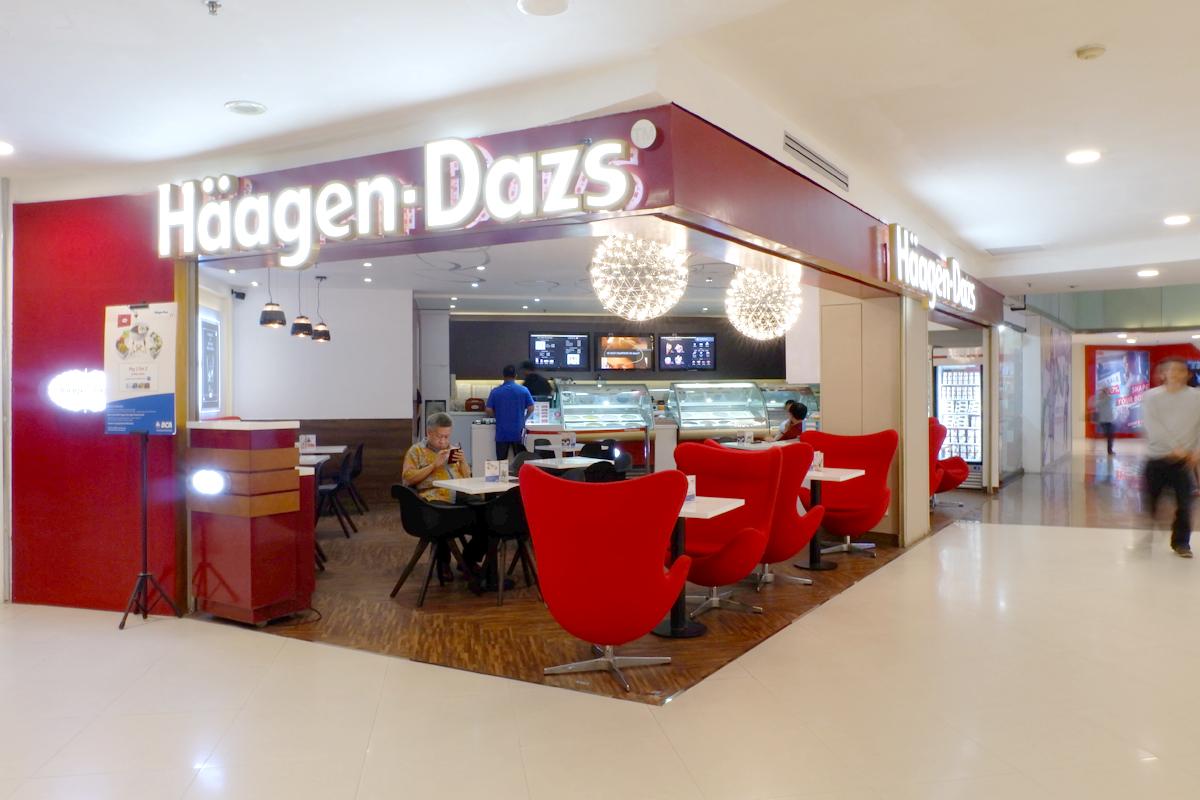 HAAGEN-DAZS CAFÉ IN MALL KELAPA GADING