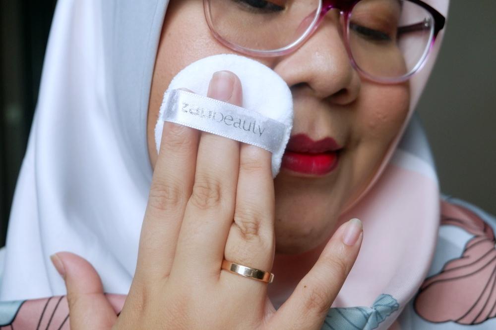 ZAP Beauty Loose Powder Review Bahasa Indonesia