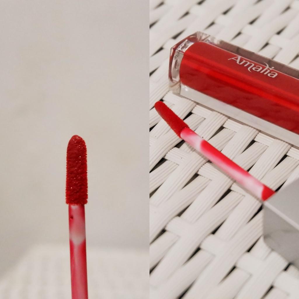 Amalia Glossy Lip Cream Marrakech Red