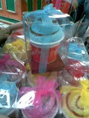 Towel cake Cup