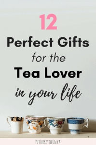 12 Unique Tea Gifts - for the Tea Lover in Your Life ...