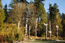 Some Totem Poles in Stanley Park