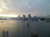 View from inside the Science World