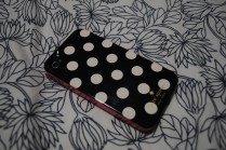 With my lovely new Kate Spade case!