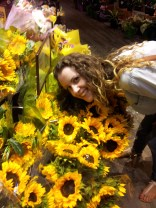 Rob says if I were a flower I'd be a sunflower, so here I am with my people