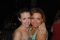 Our friend Paulina and I