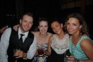 Jordan (one of the groomsmen) Me, Bianca and Paulina