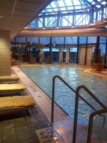 Swimming pool in our hotel