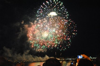 Ended the night with fireworks :)