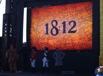 People singing and dancing about the war of 1812, it was as weird as you think it might have been!