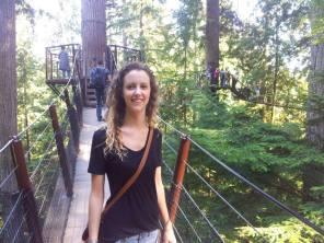 Doing the Treetop walk