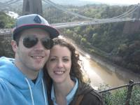 Rob and I at the Suspension Bridge