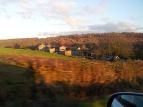 Some of the countryside on our drive
