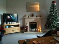 Saturday afternoon watching Harry Potter