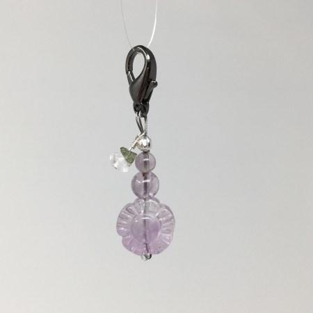 fluorite flower, fluorite keychain, crystals stability, crystals girls, crystal flower