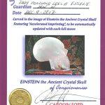 crystal skull, einstein skull, skull of consciousness, crystal skull healing,