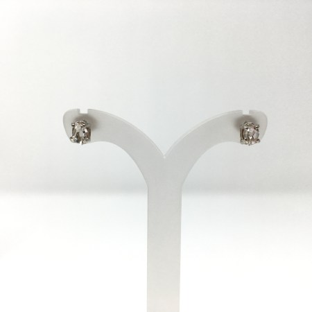 herkimer diamond, silver, necklace set, stud earrings, ascension