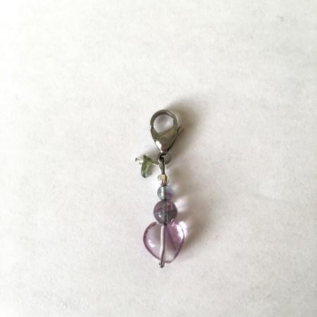 purple heart, purple fluorite, fluorite crystals, crystals order, moldavite