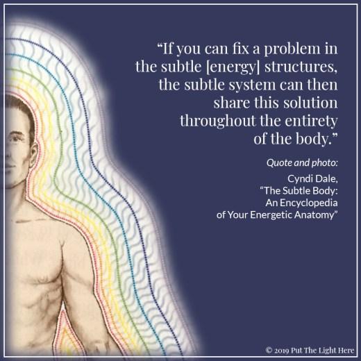 cyndi dale, all matter is energy, energy body, human aura, reiki