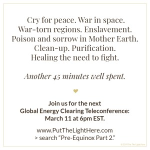 global energy clearing, energy clearing, lightwarriors, jen wozny