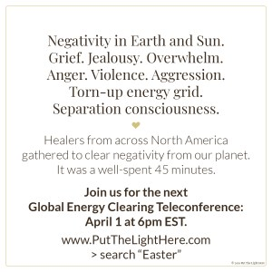 global energy clearing, lightwarriors, real lightworkers, jen wozny