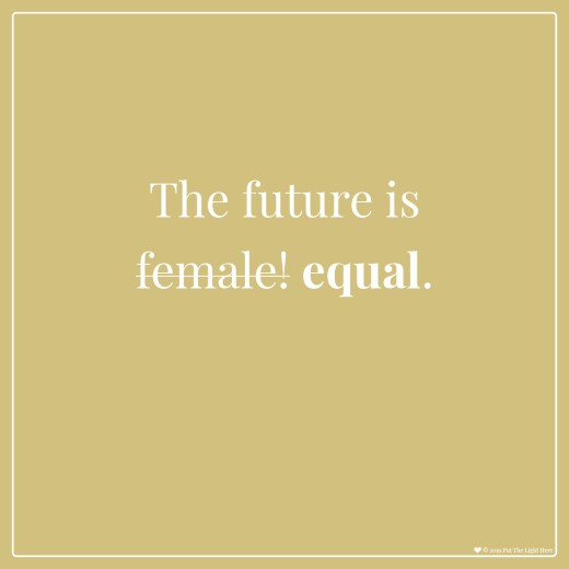 future is female, divine feminine, divine masculine, divine balance, see clearly