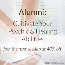 develop psychic skills, healing alumni, psychic alumni, healing course, ottawa healers