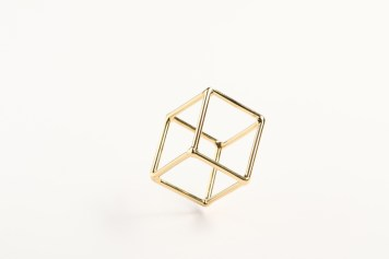 Noritamy, ring - 24k gold-plated brass