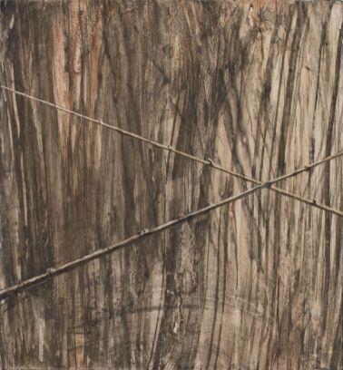 """Andris Eglītis, darbs no cikla """"Pavasara priecīgi pelēkais jeb locīts un taisnots, bet nemizots"""", 2020"""