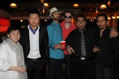 The men looking fancy