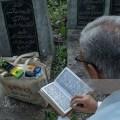 ucenje kurana na groblju