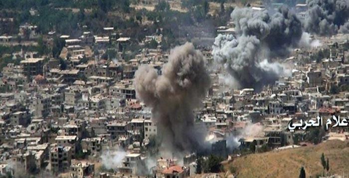 Bitka za Zabadani: Stotine eksplozija odjekuje gradom svakodnevno