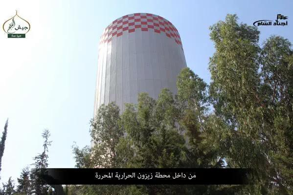 Zajzun elektrana, najveca elektrana u provinciji Idlib