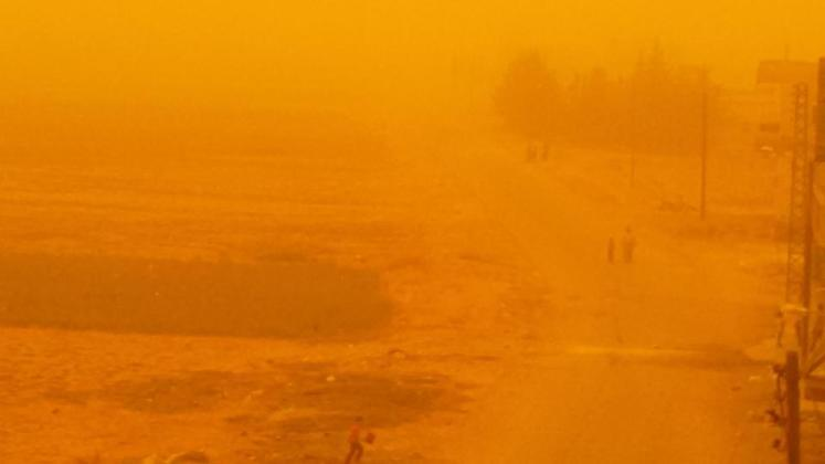 Peščana oluja u Siriji