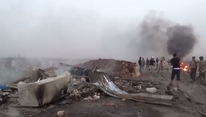 Bombaški napad na Azaz