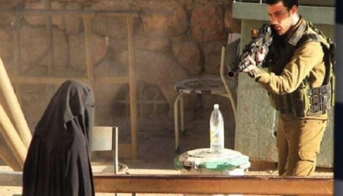 Palestinka upucana od strane židovskog vojnika