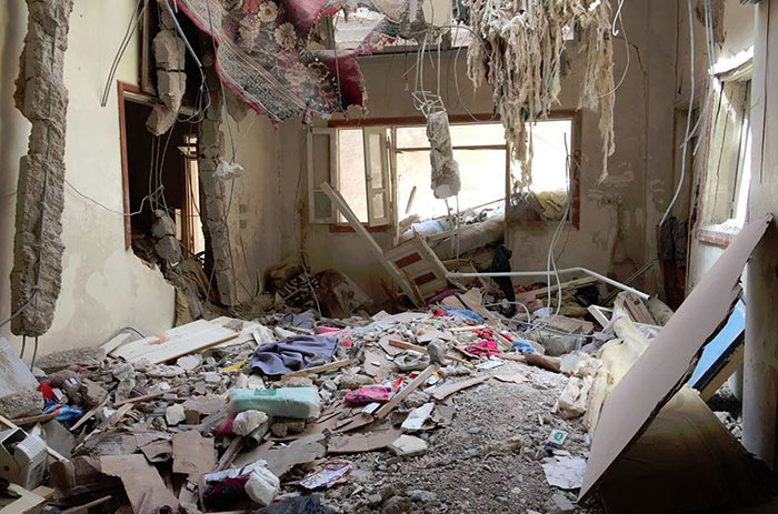 Uništavanje Sirije