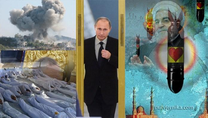 Rusija, Iran, rat u Siriji
